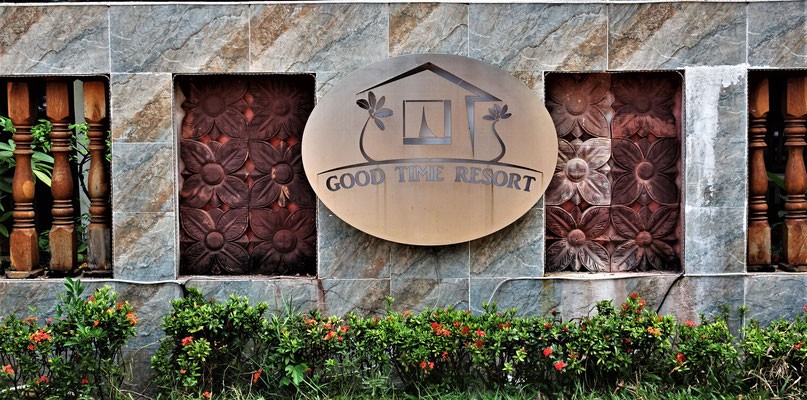Das Good Time Resort an der Otres Beach in Sihanoukville.....