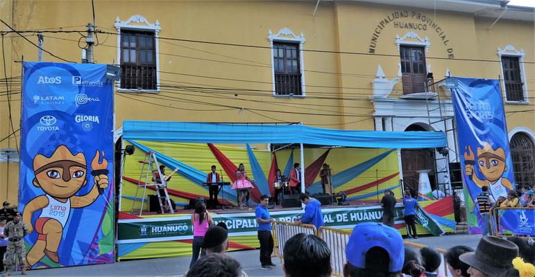 Vorbereitungen in Huanuco.....