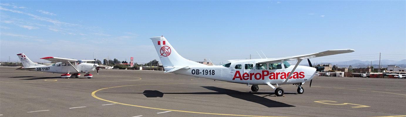 Mit diesem Flugzeug.....