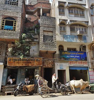 ...von Varanasi...