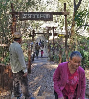 Die Bambusbrücke....