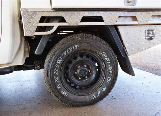 Der neue Reifen von Bob für 260 AU$.