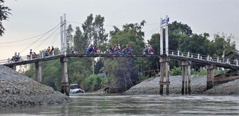 Brücke nur für Roller.