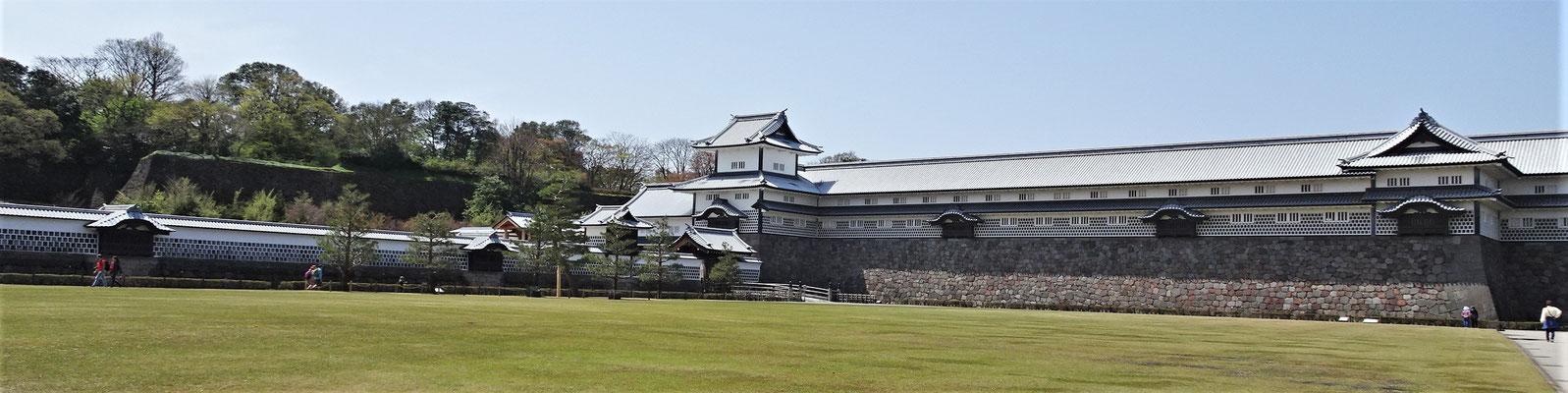 Die Burg Kanazawa.....