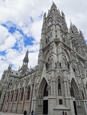 Sie ist die grösste Neugotische Basilika Amerikas.