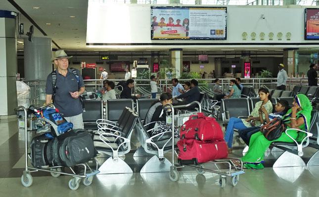 Der moderne Flughafen.....