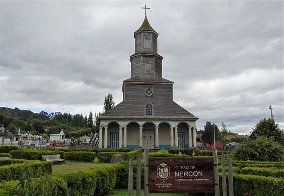 Die Nuestra Senora de Narcon Kirche....