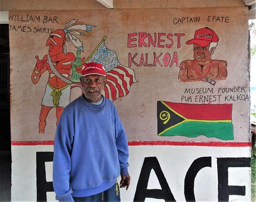 ....83 jährigen Eigentümer Ernest.