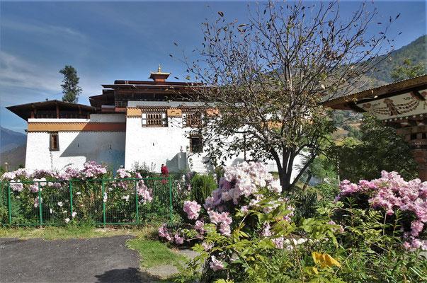 Der Dzong Zhabdrung Ngawang Namgyal...