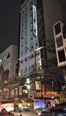 Unser Hotel Salil in Bangkok........