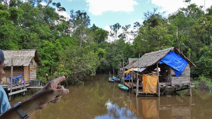 Ein kleines Fischerdorf.