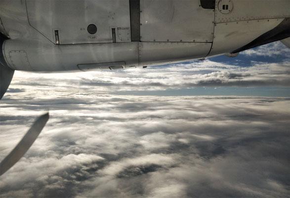 Über der Wolkendecke....