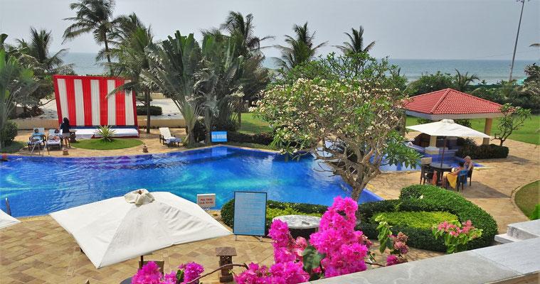 Unser drittes Hotel in Puri...