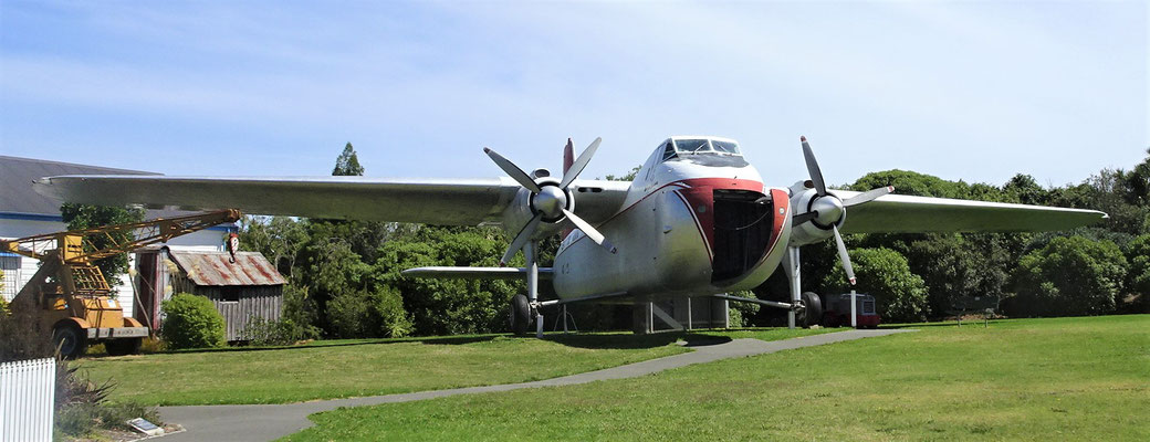 Ein spezielles Transportflugzeug.