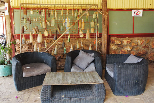 Die Lounge und....