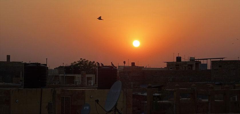 ...Sonnenunterganges.