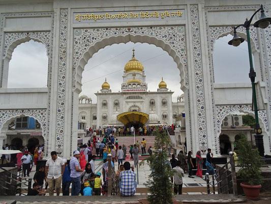 Der Sikh Tempel..