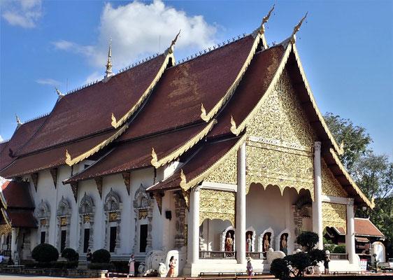 Der Wat Chedi Luang.