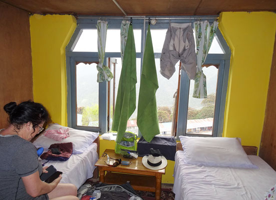 ...und unser Zimmer...