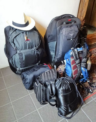 Unser Reisegepäck