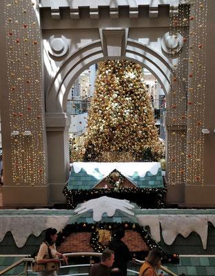 Eine der wenigen Weihnachtsdeko.......