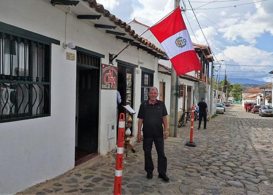 Ein Peruanisches Restaurant.