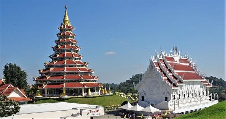 Der 9 Tier-Tempel mit.......