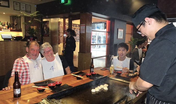 .....im Ginze Teppanyaki Restaurant.
