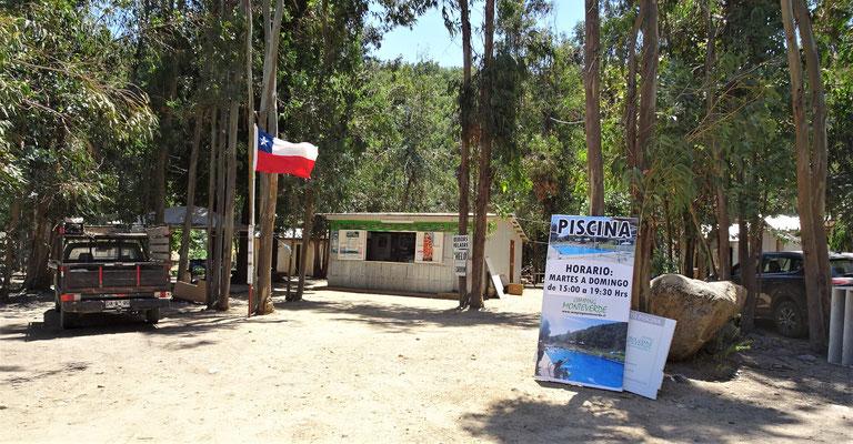 Der erste Campingplatz.....