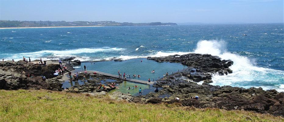 Ein spezielles Meer-Schwimmbecken.