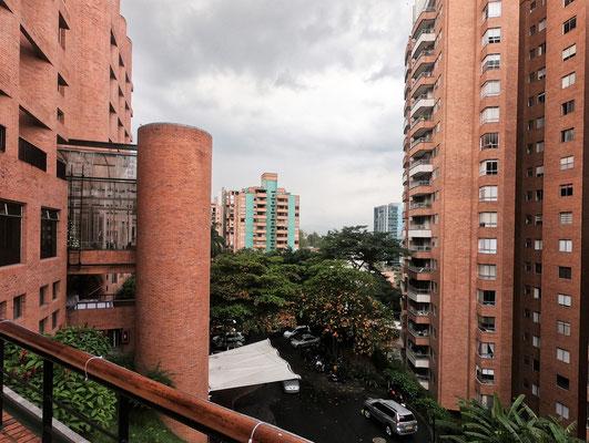 .....mit dem Blick auf das El Poblao Quartier.