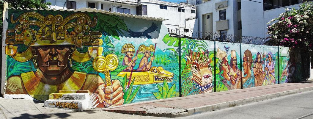 Kunstvolle Wandbilder.
