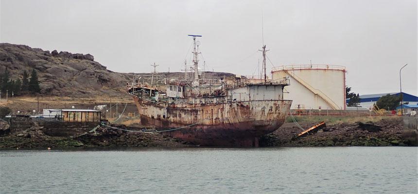 Ein Teil des Hafens.