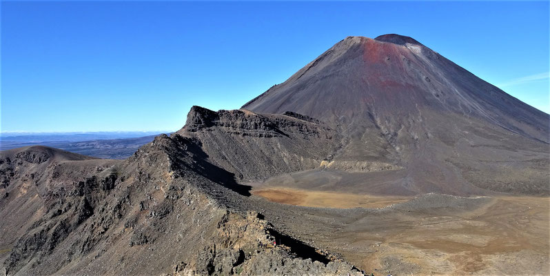 Die Vulkanlandschaft...