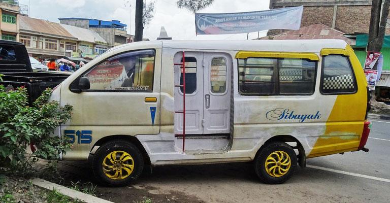 ..modernsten Bussen....