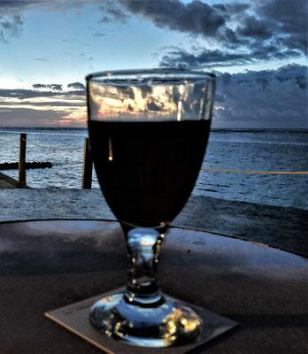 .....und Wein.