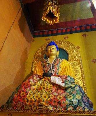 ...und der blaue Haar Buddha.