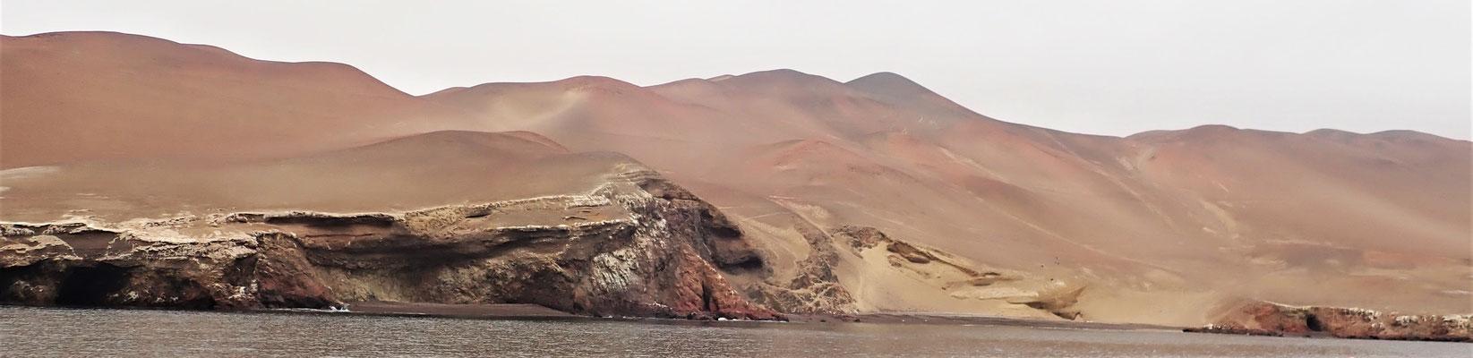 .....zu den Ballestas Inseln....