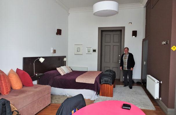 Unser Zimmer......