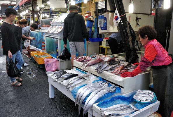 Der Fischmarkt....