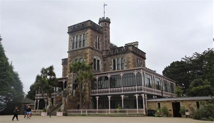 ....das einzige Schloss in Neuseeland.