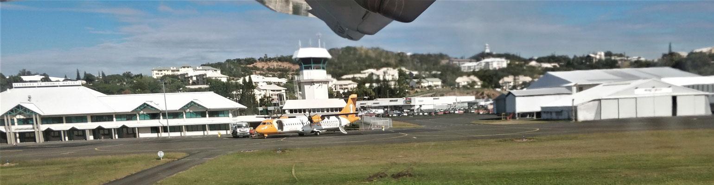 Der Flugplatz von Noumea......