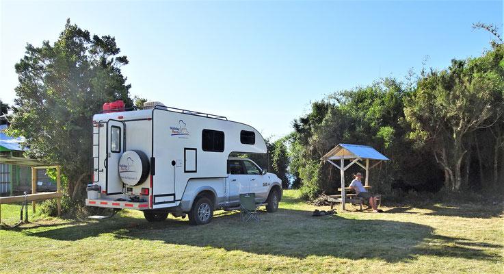 Der Camping Flor del Lago......