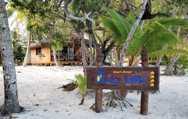 Unser Bungi im Oure Resort......