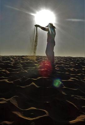 Colette's liebe zum Sand...