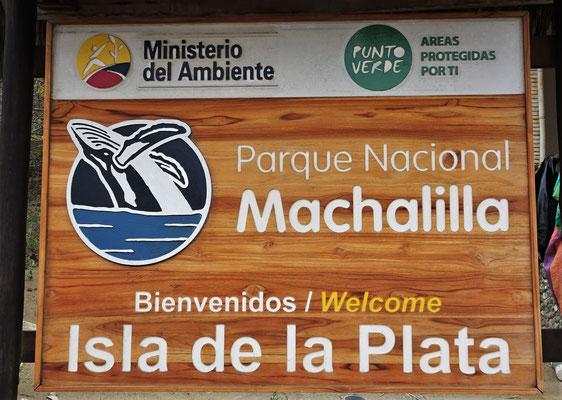 Der einzige Meeres-Nationalpark in Ecuador.