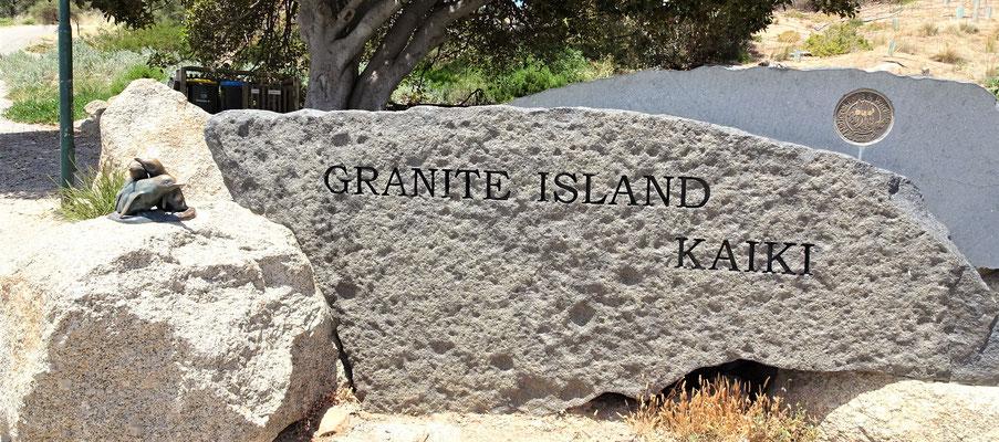 ...auf Granite Island.
