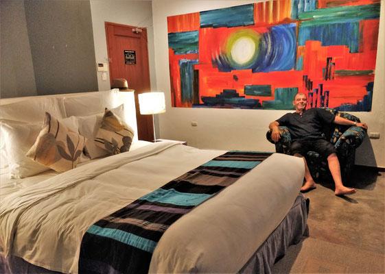 Was für ein Zimmer......