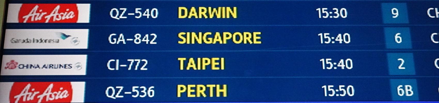 Darwin und der 5. Kontinent wartet auf uns.