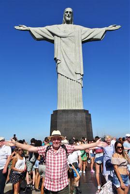 Der 38m hohe Cristo....